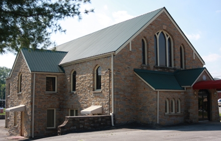 Photo of a historic church in White County, Tennessee