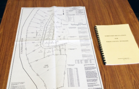 Photo of planning materials