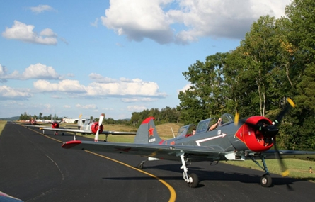 Photo of planes at the Upper Cumberland Regional Airport