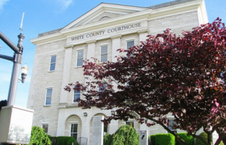 Photo of the White County Courthouse